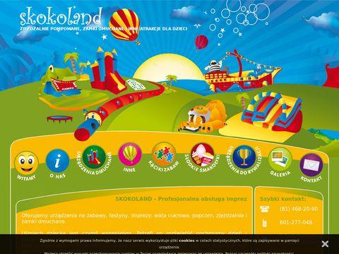 Skokoland - Atrakcje dla dzieci!