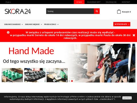 Skora24.pl – stylowe buty skórzane
