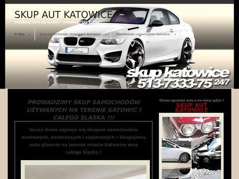 Samochody i auta Katowice - Handel samochodami, skup aut złomowanie