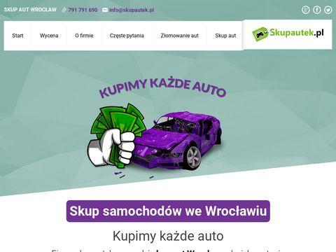 Skup aut wrocław skupautek