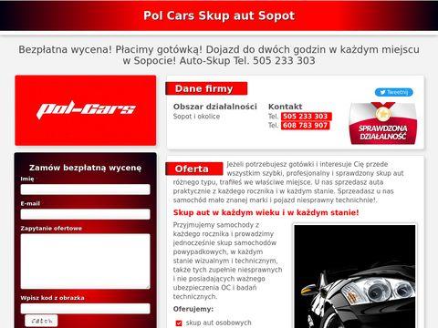 Skup aut Sopot Pol Cars