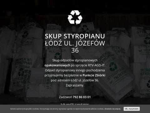 Skup odpadów styropianowych
