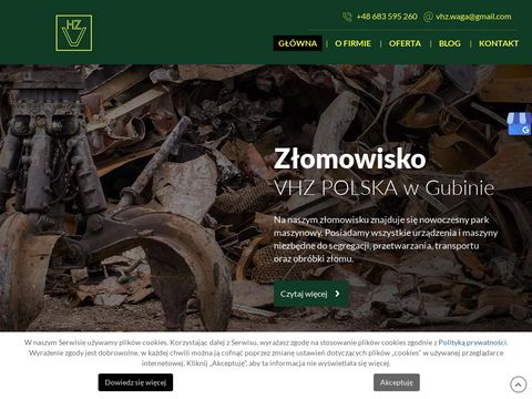 Skupzlomu-gubin.pl skup z艂omu gubin
