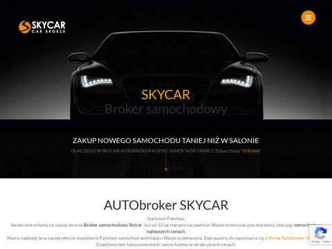 Broker samochodowy, Samochody, Nowe, Tanie - SkyCa