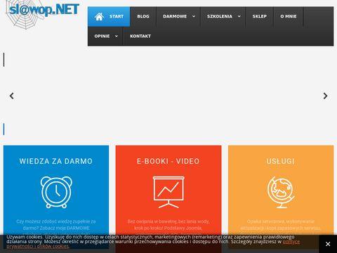 BLOG - SÅ'awomir Pieszczek - Joomla, Webdesign, Informatyka, Psychologia, Edukacja, E-biznes