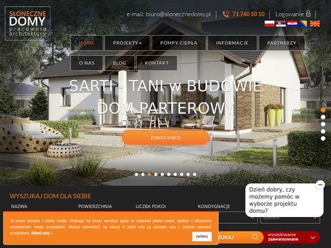 Gotowe projekty domów jednorodzinnych | Słoneczne domy