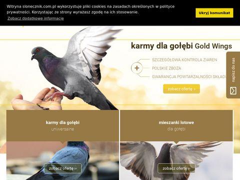 Karmy i pasze dla gołębi, mieszanki Gold Wings | FH Bogdan Chmiel