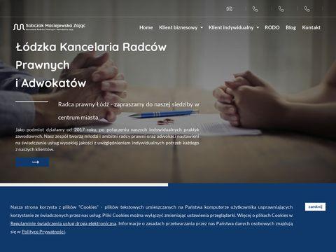 Kancelaria radców prawnych Sobczak & Maciejewska