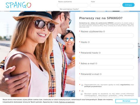SPANGO.pl - Czatuj i poznawaj ludzi