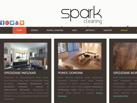 Sprz膮tanie mieszka艅 - Spark Cleaning - Warszawa