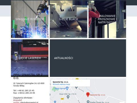 Spawstal - Produkcja i sprzedaż konstrukcji spawanych