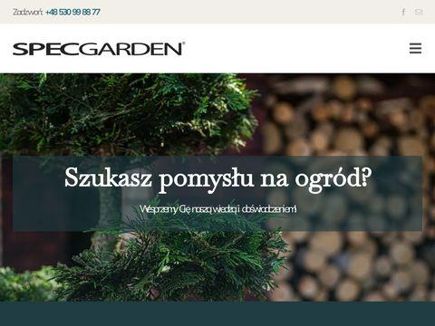 Projektowanie ogrod贸w SpecGarden