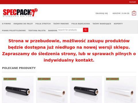 Www.specpack.plczarny stretch