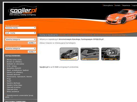 SPOJLER.pl - spojlery i zderzaki tuningowe