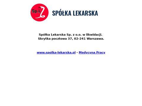 SP脫艁KA LEKARSKA Sp. z o.o. poradnia chor贸b zaka藕nych warszawa