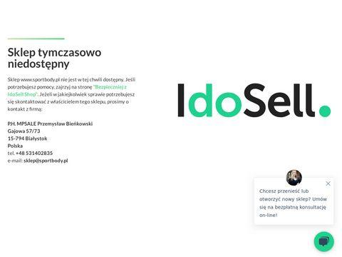 Sklep sportowy Sportbody.pl | Sprz臋t fitness, na si艂owni臋, turystyczny, do rekreacji
