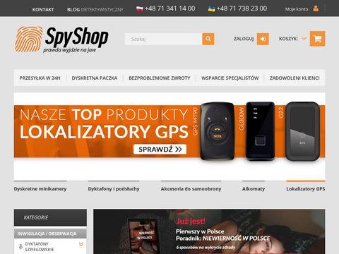 Spy shop - podsłuchy i minikamery
