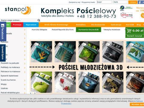 STANPOL.BIZ - Pościel, Kołdry, Poduszki, Ręczniki