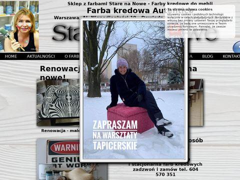 Farby Kredowe Wysyłka Online. Sklep Stare na Nowe Warszawa