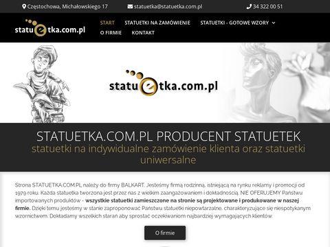 Statuetka.com.pl producent ekskluzywnych statuetek