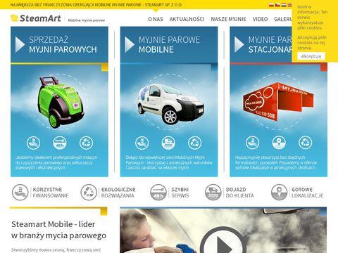 SteamArt - Profesjonalne Mobilne Myjnie Parowe