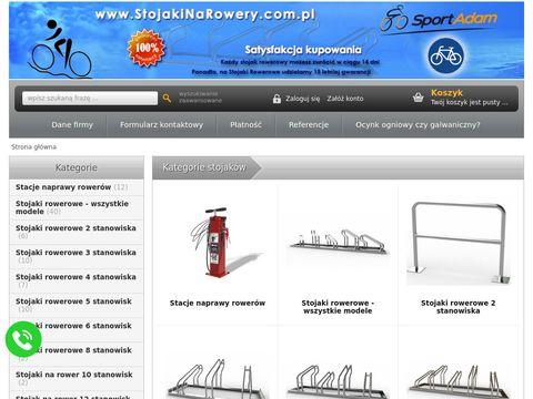 Wieszaki na rower, stojaki na rowery - internetowy sklep producenta.