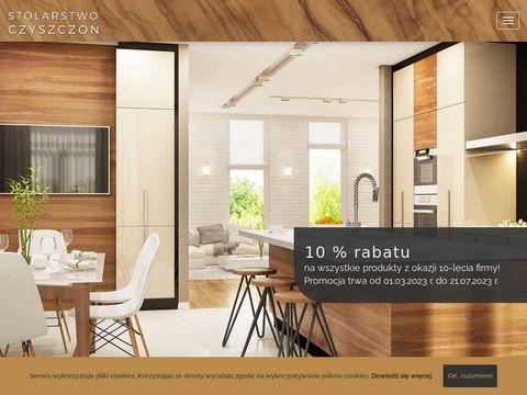 Schody drewniane, balustrady, meble - Stolarstwo Czyszczoń