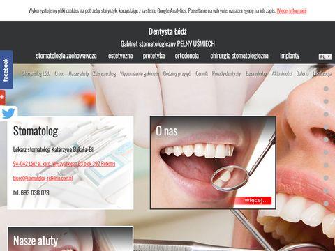 Dentysta w �odzi