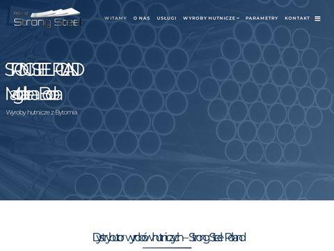 Www.strongsteelpoland.pl wyroby hutnicze