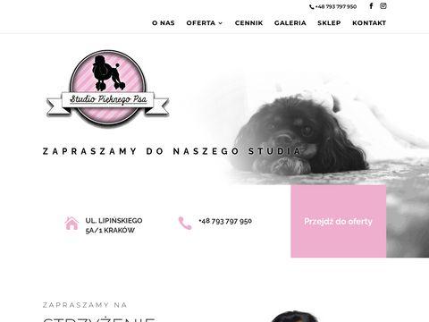 Psi fryzjer Kraków