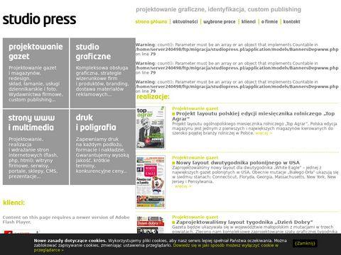 STUDIO PRESS - Agencja Reklamowa, Gazety, Druk