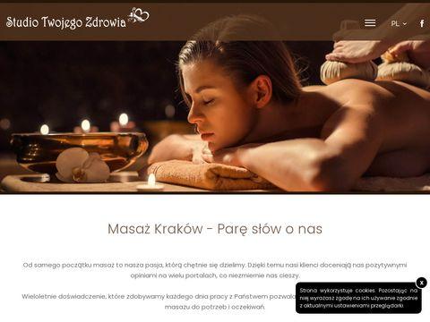 Masaż Kraków - www.StudioTwojegoZdrowia.com