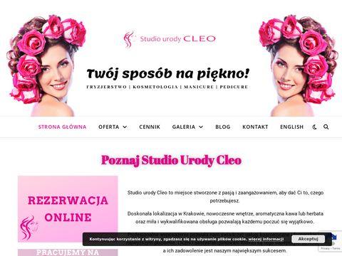 Salon kosmetyczny Cleo Kraków
