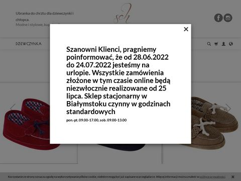 Ubranka dla chłopca - stylowychrzest.pl