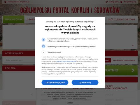 Katalog Firm - Kopalnie w Polsce surowc贸w mineralnych i kopalin