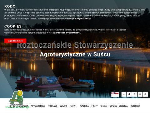 Roztocza艅skie Stowarzyszenie Agroturystyczne w Su艣cu