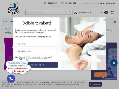 Jak wybrać materac - sweetsen.pl