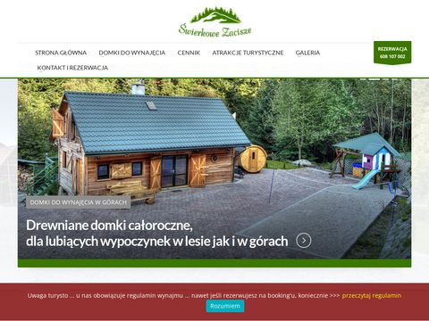 Domki do wynajÄ™cia beskidy - swierkowe-zacisze.pl
