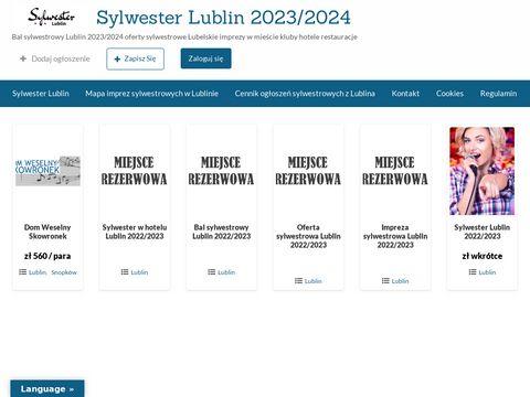 Sylwester Lublin - Bal Sylwestrowy