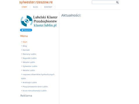 Sylwester Rzeszów