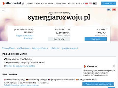SYNERGIA ROZWOJU – Firma szkoleniowo – doradcza (Warszawa, Wrocław)
