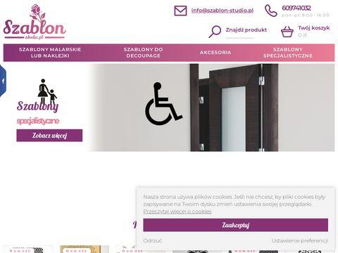 Szablon-Studio.pl - Sklep internetowy szablony malarskie, dekoracyjne