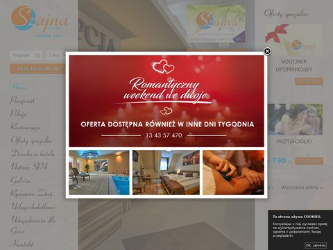 Szajna SPA hotel Rymanów Zdrój