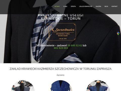 Szczechowiczkrawiectwo.pl garnitury na miar臋