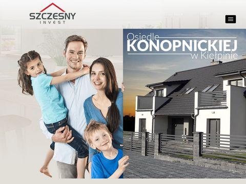 Domy na sprzedaż Kaszuby - SZCZESNY INVEST