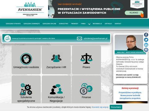 AVENHANSEN - Szkolenia biznesowe