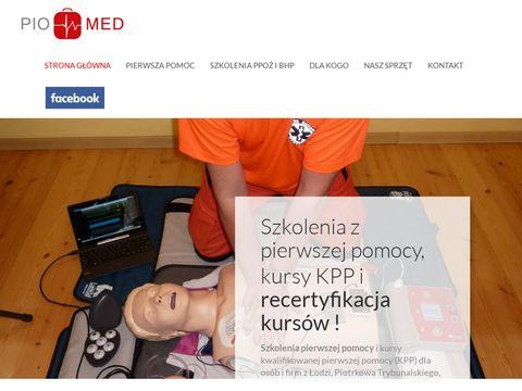 Szkolenia z udzielania pierwszej pomocy medycznej