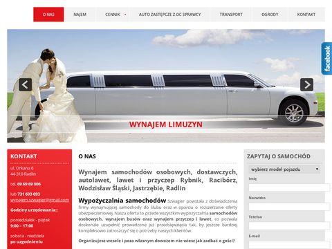 Szwagier.com.pl - wynajem samochod贸w 呕ory