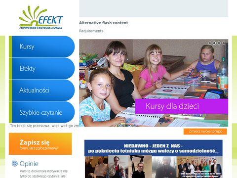 ECU Efekt -nauka szybkiego czytania i uczenia