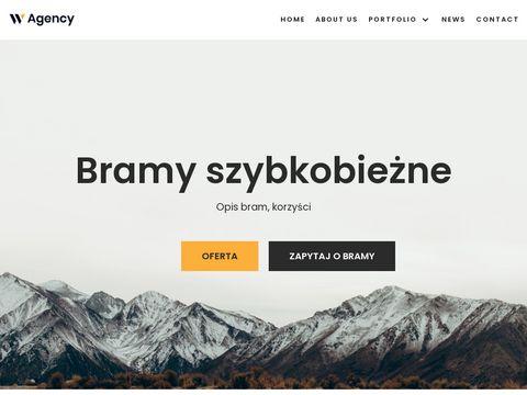 Nowoczesne bramy szybkobiezna - szybkobiezna.pl